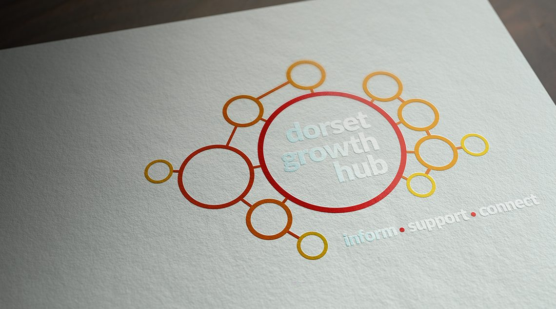 Dorset Growth Hub Branding Design
