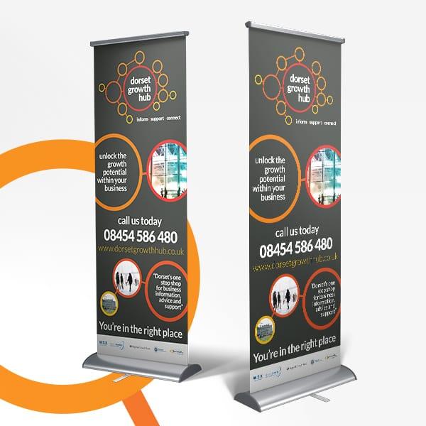 Dorset Growth Hub Display Design