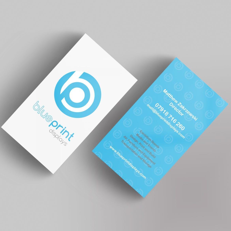 Blueprint Business Card Design