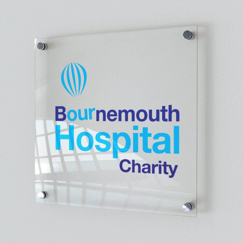 Bournemouth Hospital Charity Signage Design