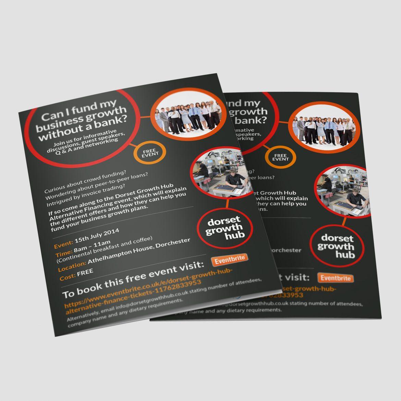 Dorset Growth Hub Brochure Design
