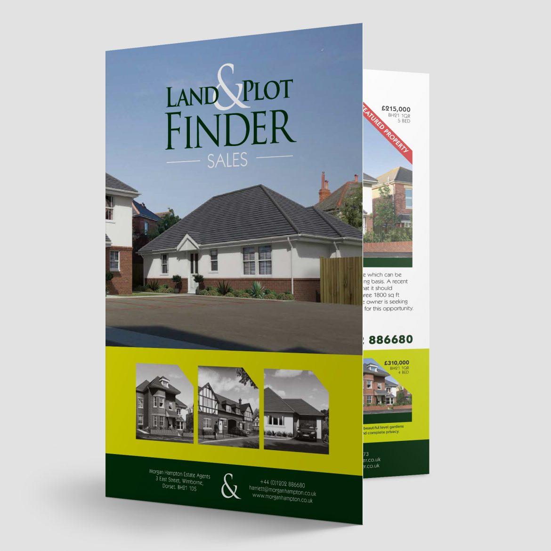 Land & Plot Finder Leaflet Design