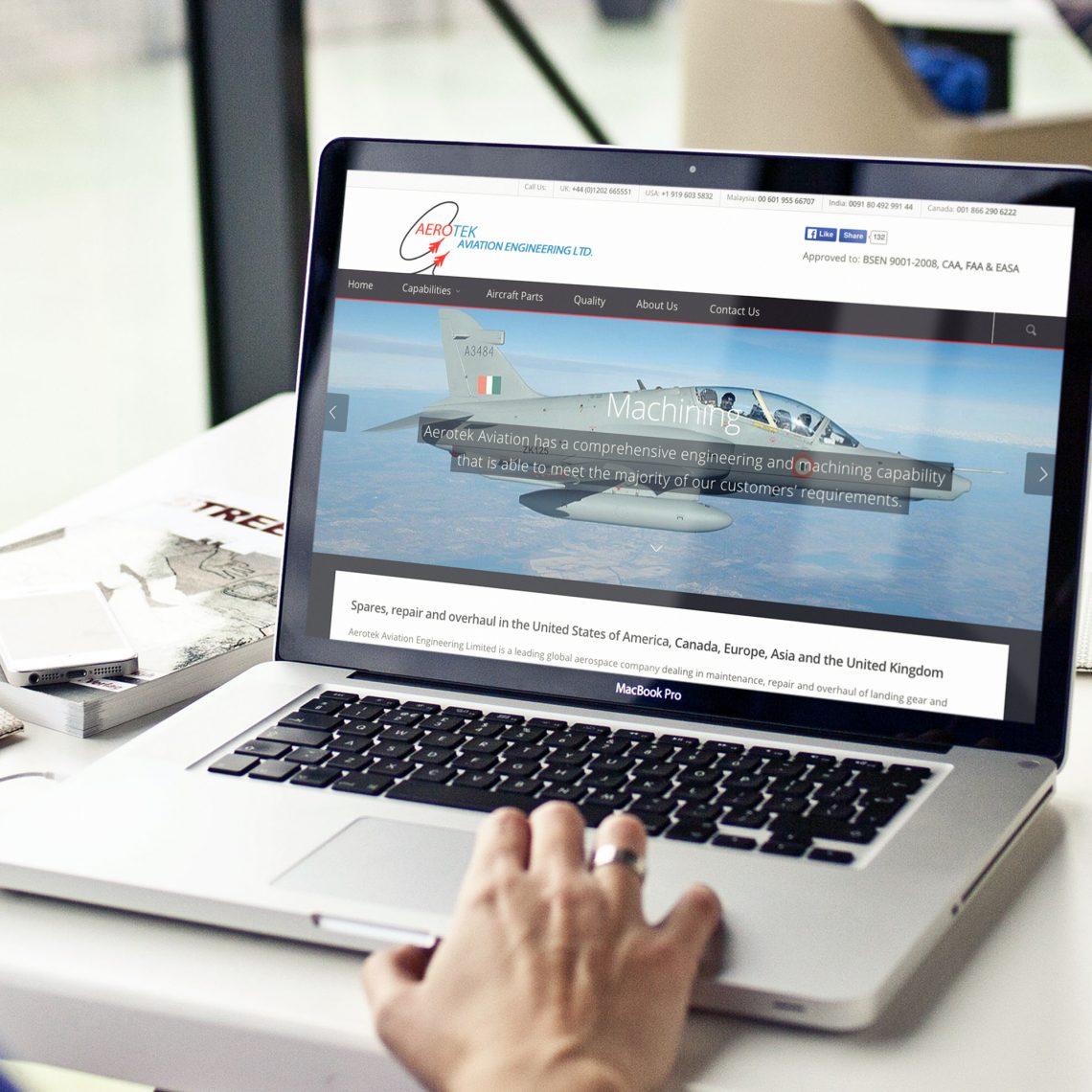 Aerotek Web Design