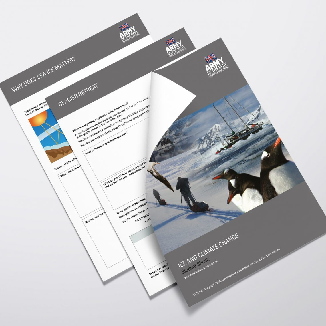 Army Brochure Design