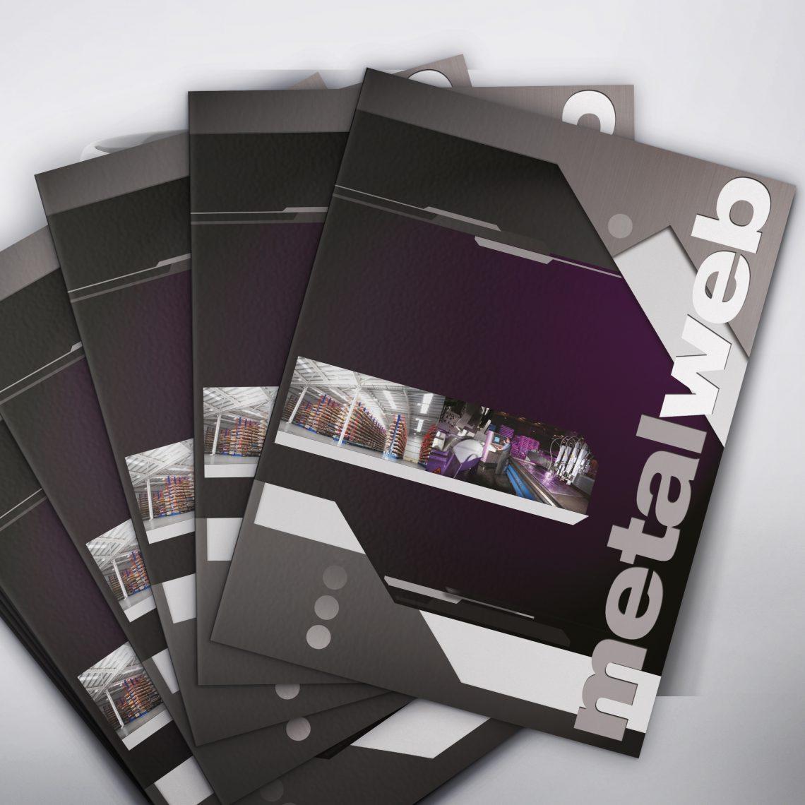Metalweb Brochure Design