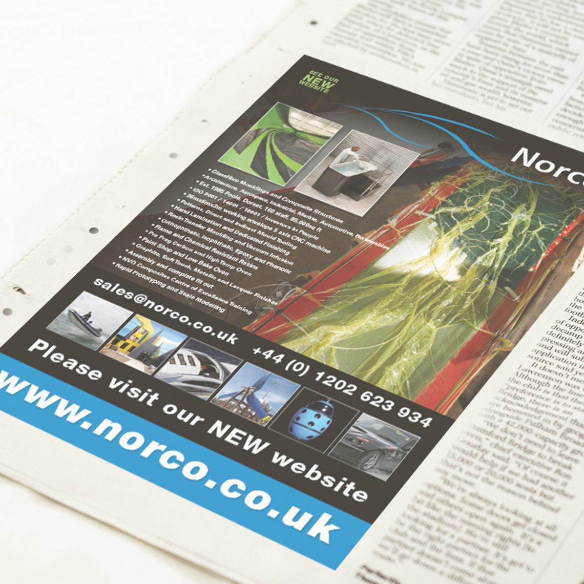 Norco Advertising Design