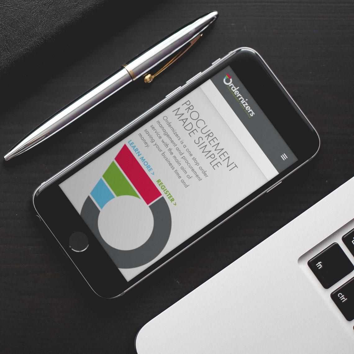 Ordernizers Mobile Web Design