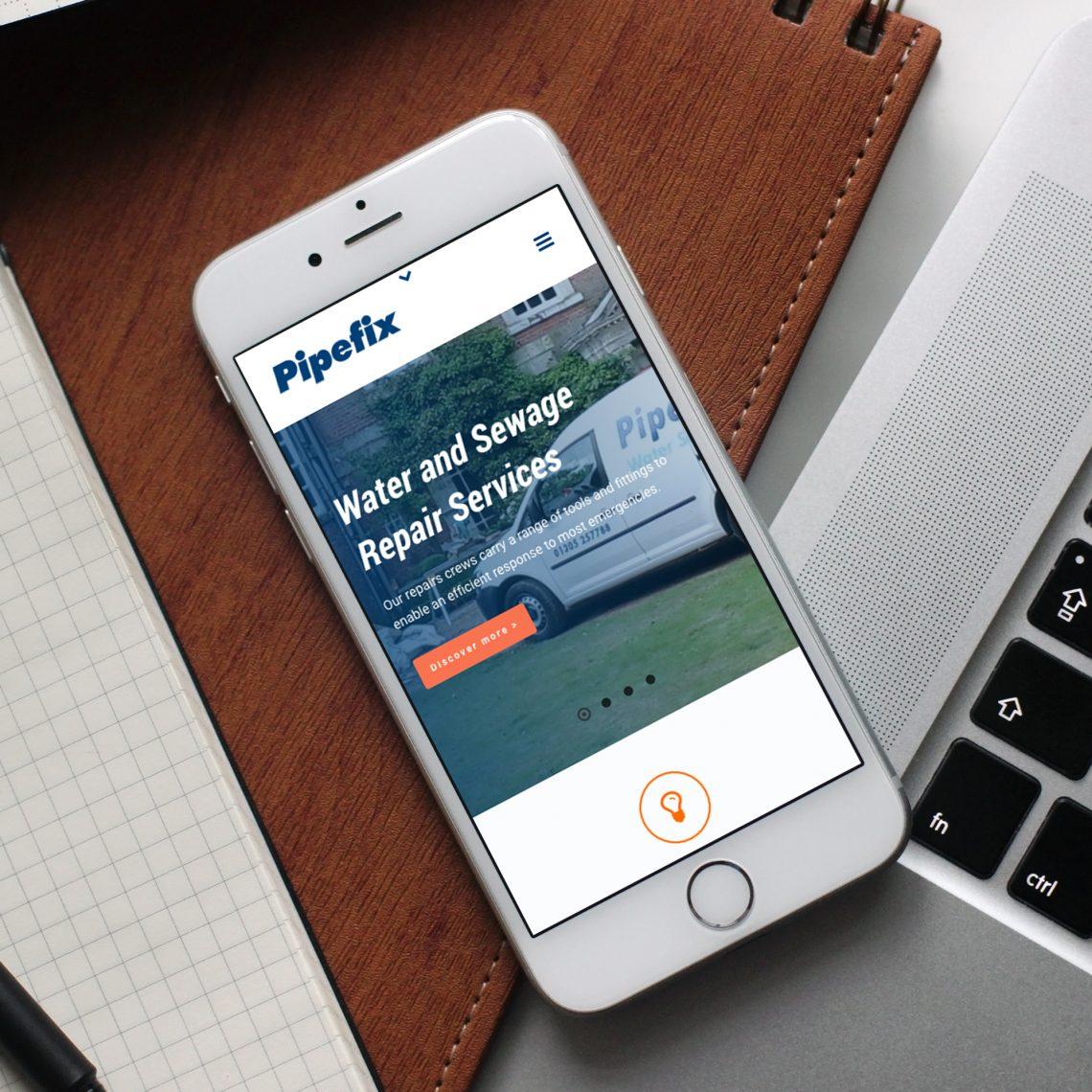 Pipefix Mobile Web Design