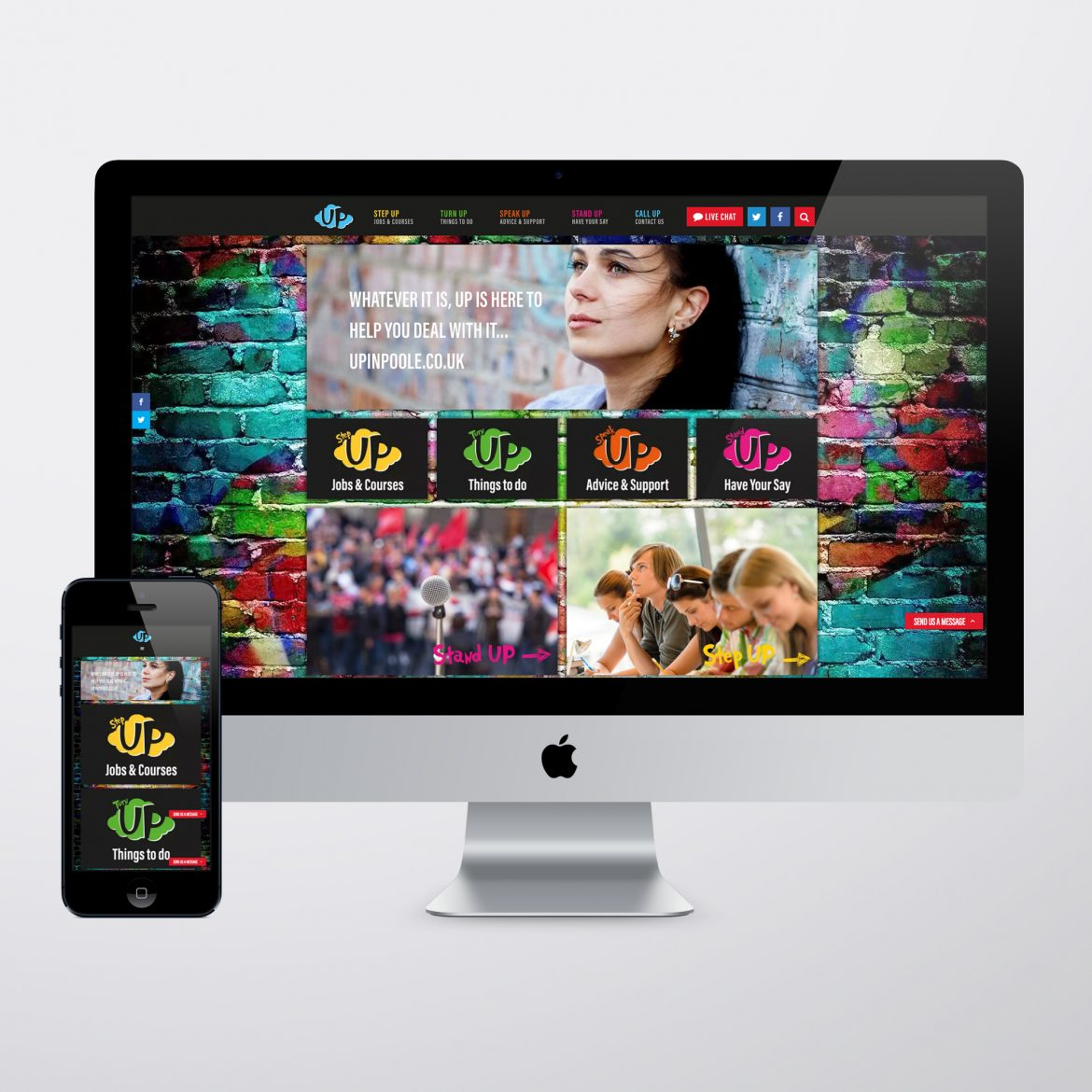 UP in Poole Web Design