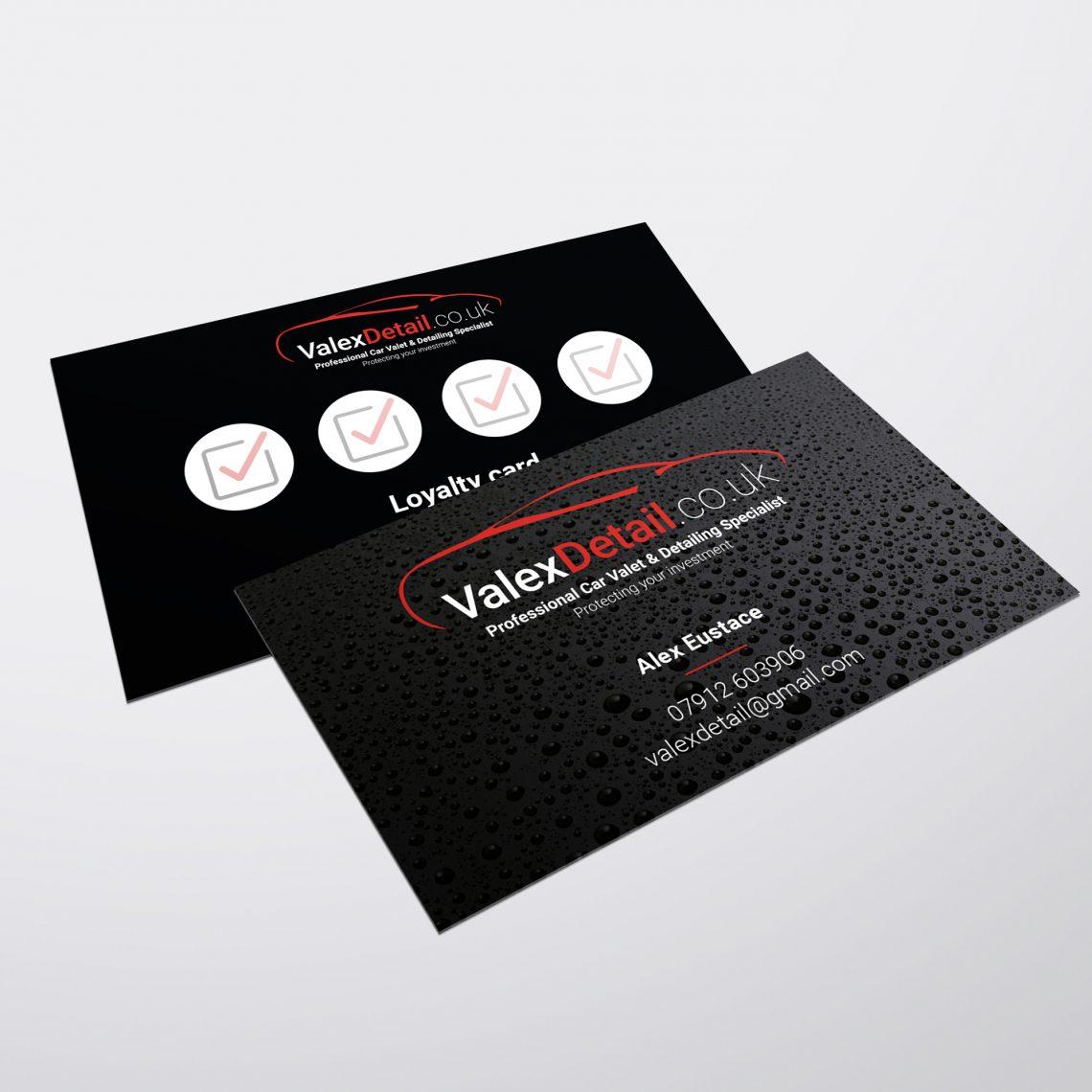 Valex Business Card Design