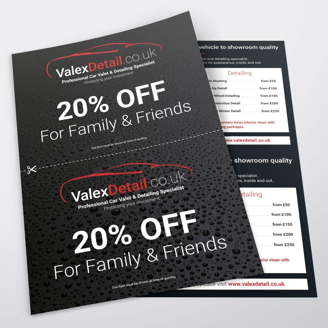 Valex Leaflet Design