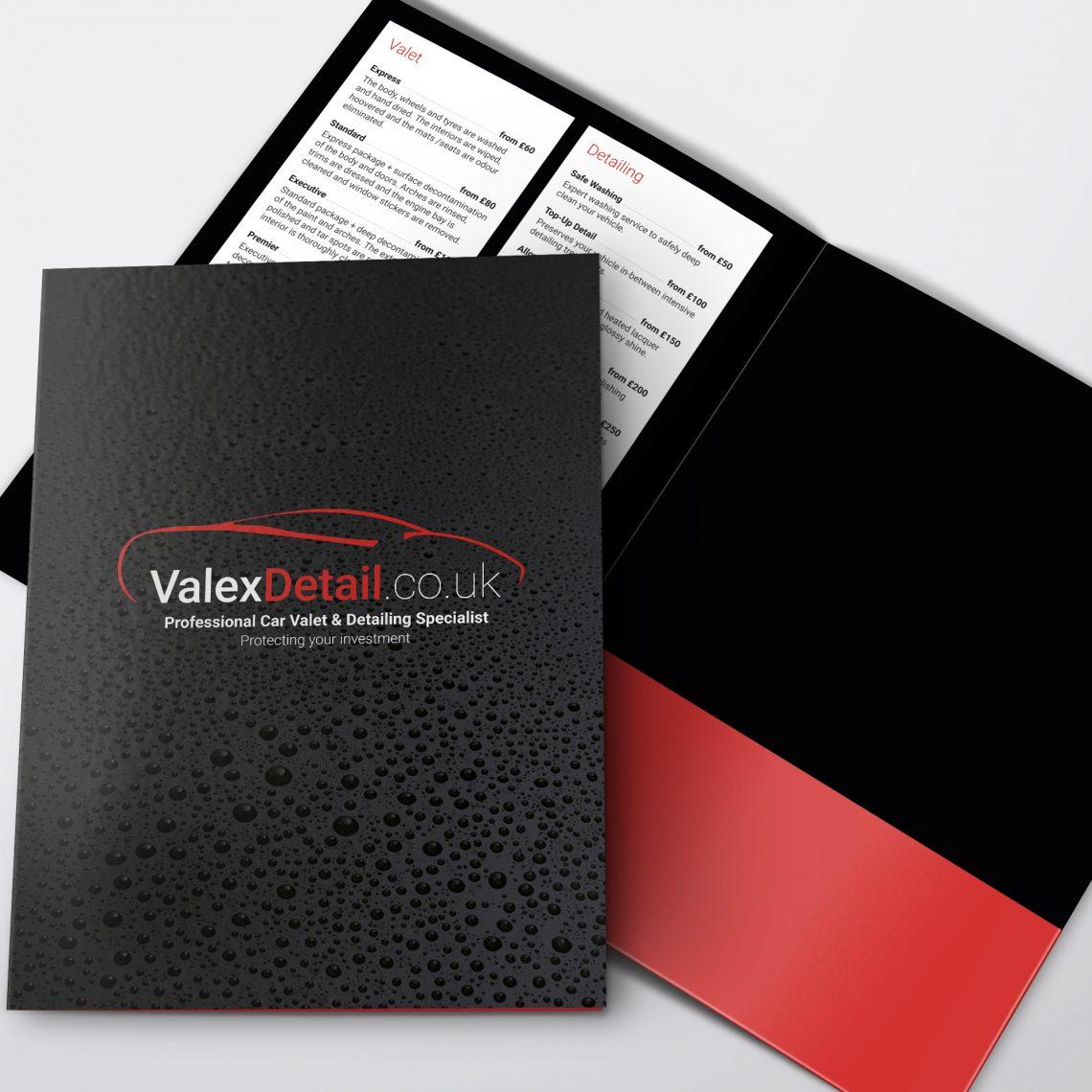 Valex Presentation Folder