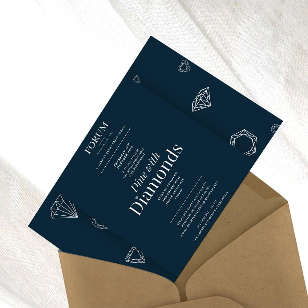 Forum Jewellers Leaflet Design