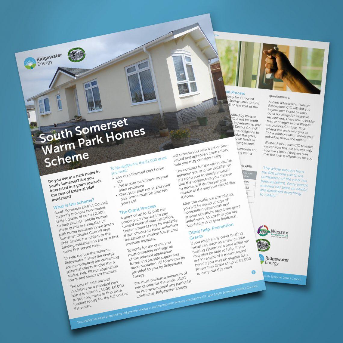 Ridgewater Brochure Design