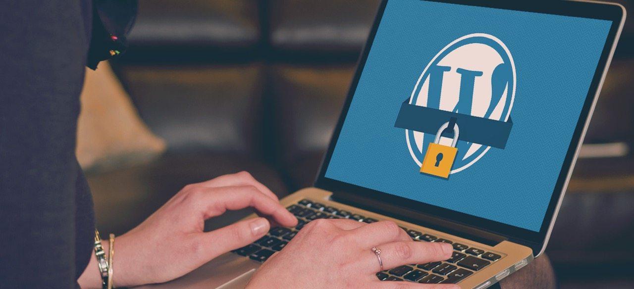 Wordpress Security on a laptop