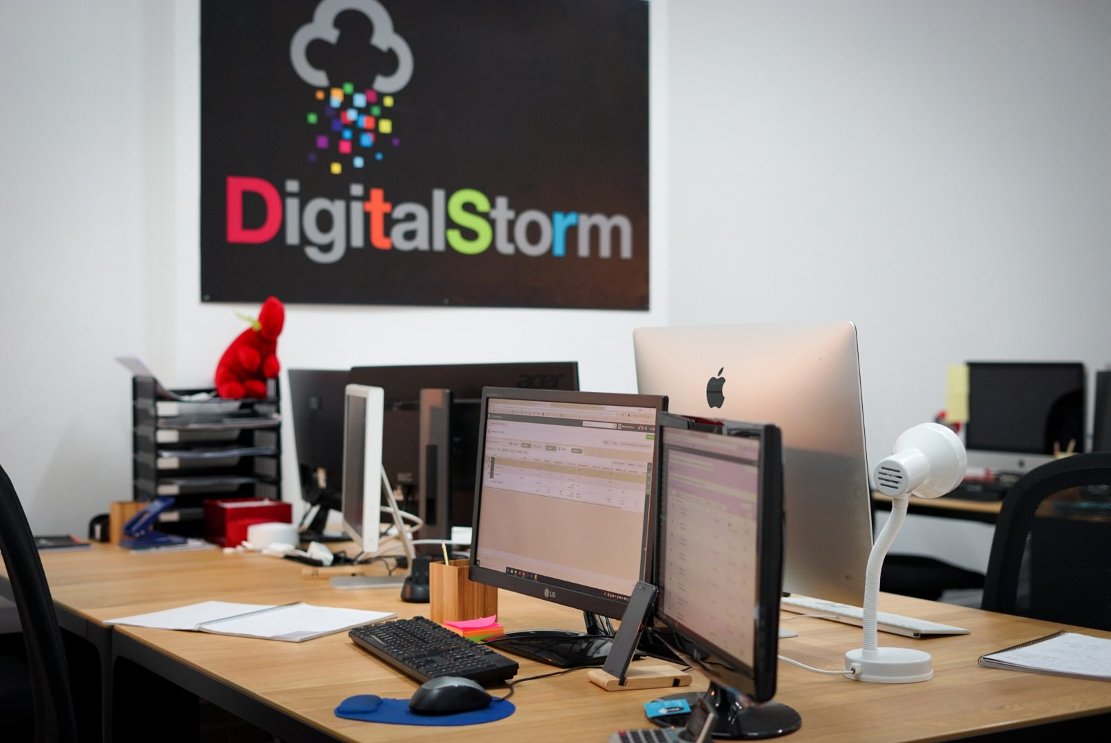 digital storm new office space workstations