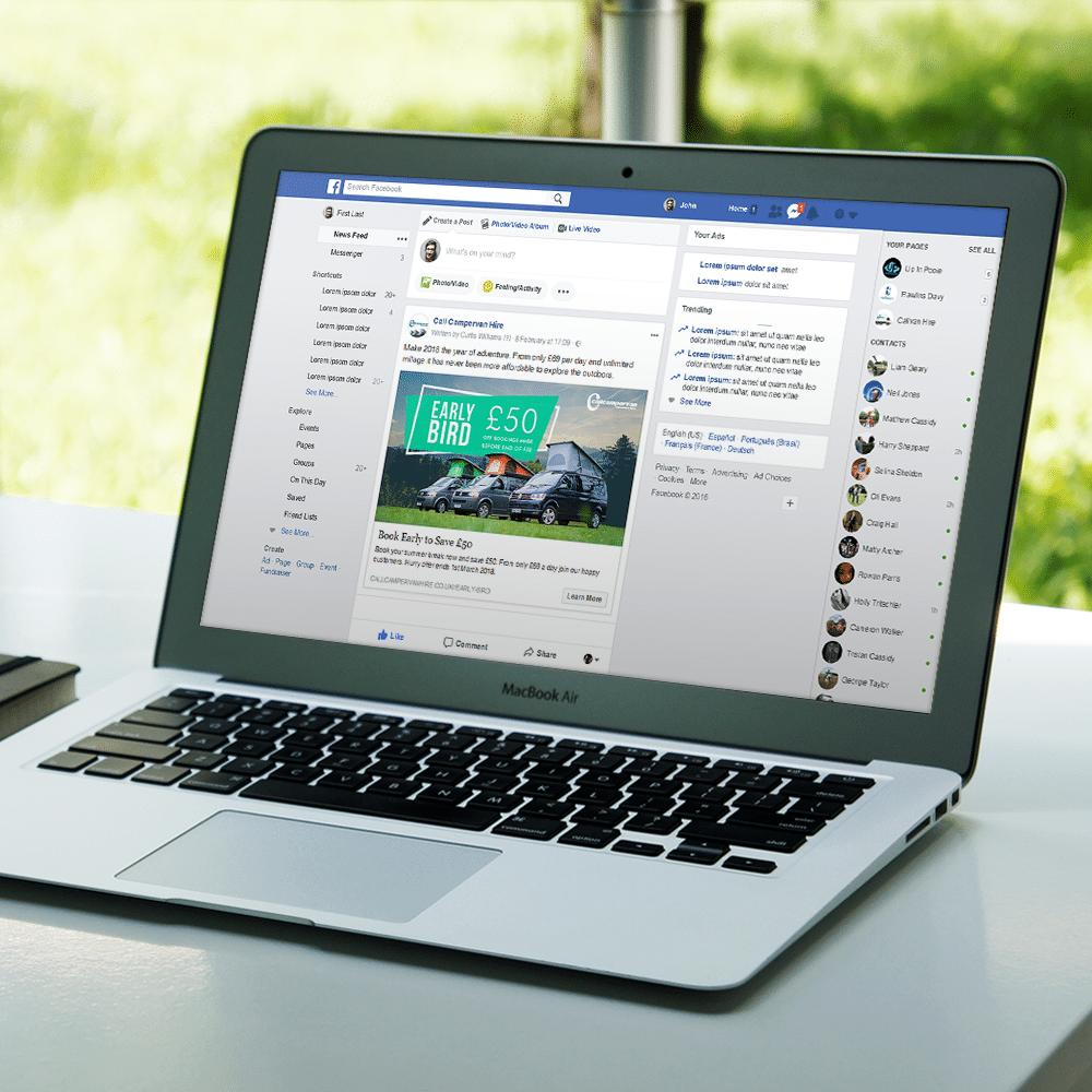 Callcampervan Social Media Management