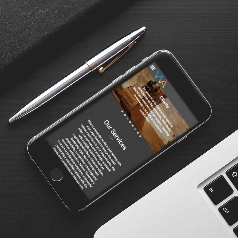 Wilson Alexander Mobile Web Design