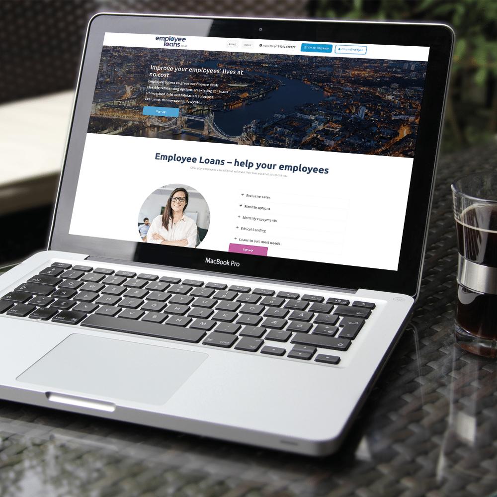 Employee Loans Web Design
