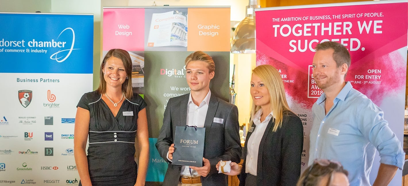 Winner of the Digital Storm networking breakfast competition
