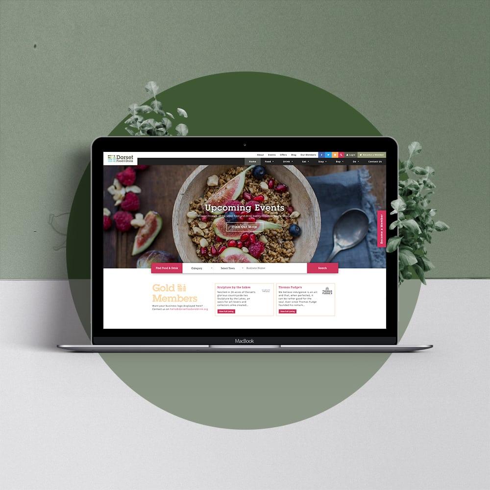 Dorset Food & Drink Web Design
