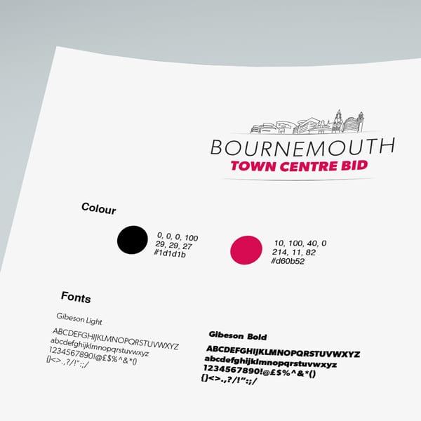Bournemouth Bid Branding