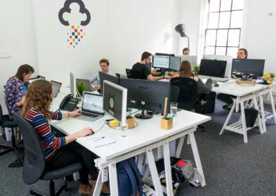 digital storm web design team office